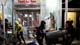 Man Shot in New York After Protests Descend Into Violent Chaos Hours Before Curfew