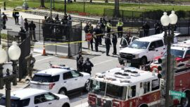 Car Rams Capitol Police; 2 Dead, 1 Injured
